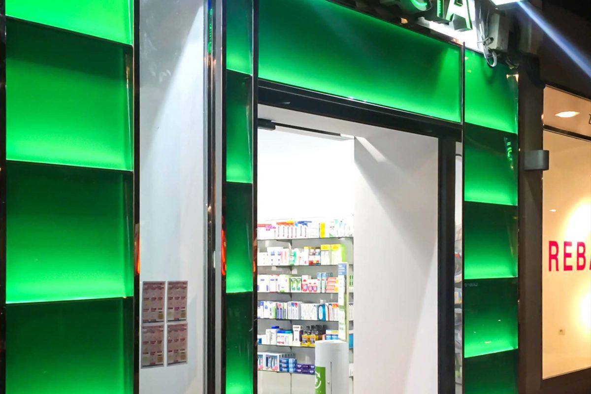 Fachada Farmacia Damas